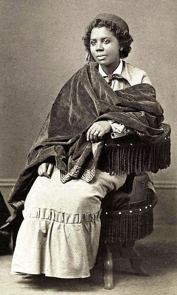 Mary Edmonia Lewis (ca. July 4, 1845–September 17, 1907) was the first African American and Native American woman to gain fame and recognition as a sculptor in the international fine arts world. She was of African American, Haitian and Ojibwe descent.