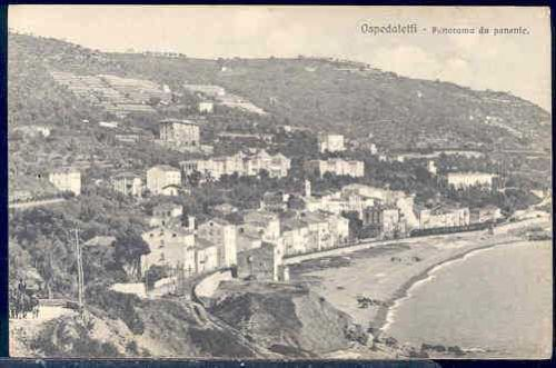 Italy-Ospedaletti-Panorama-View