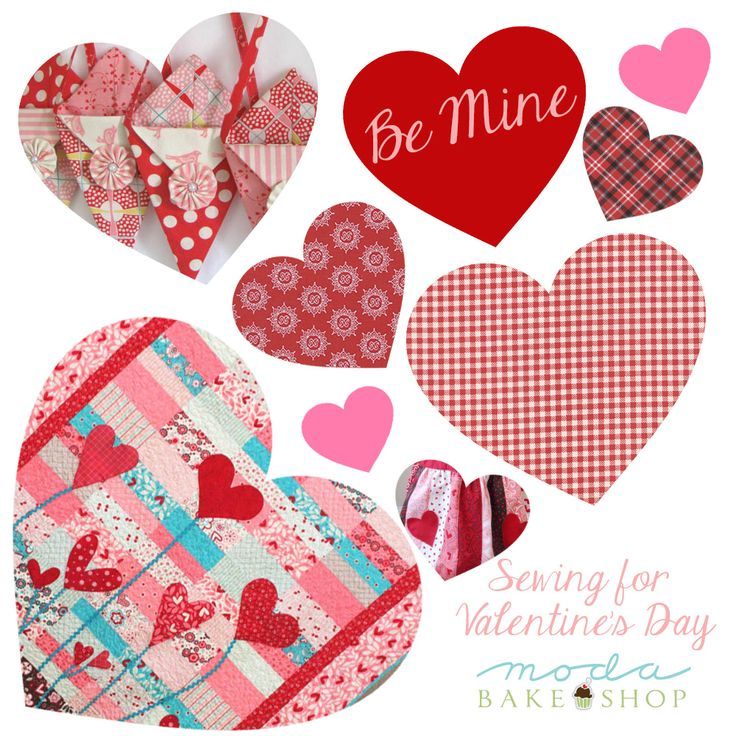 Be Mine: Sewing for Valentine's Day « Moda Bake Shop