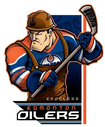 I revamped my @EdmontonOilers dude...he's no longer a scared hunchback.#Oilers..Long time comin on this one...