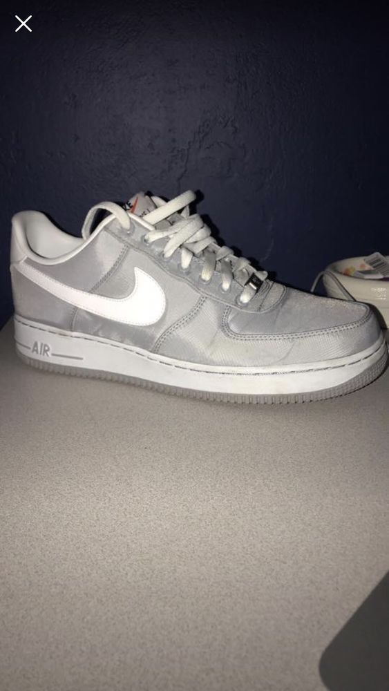 220f18579f35 Nike Air Force 1 Grey (Mens 10.5)  fashion  clothing  shoes  accessories   mensshoes  athleticshoes (ebay link)