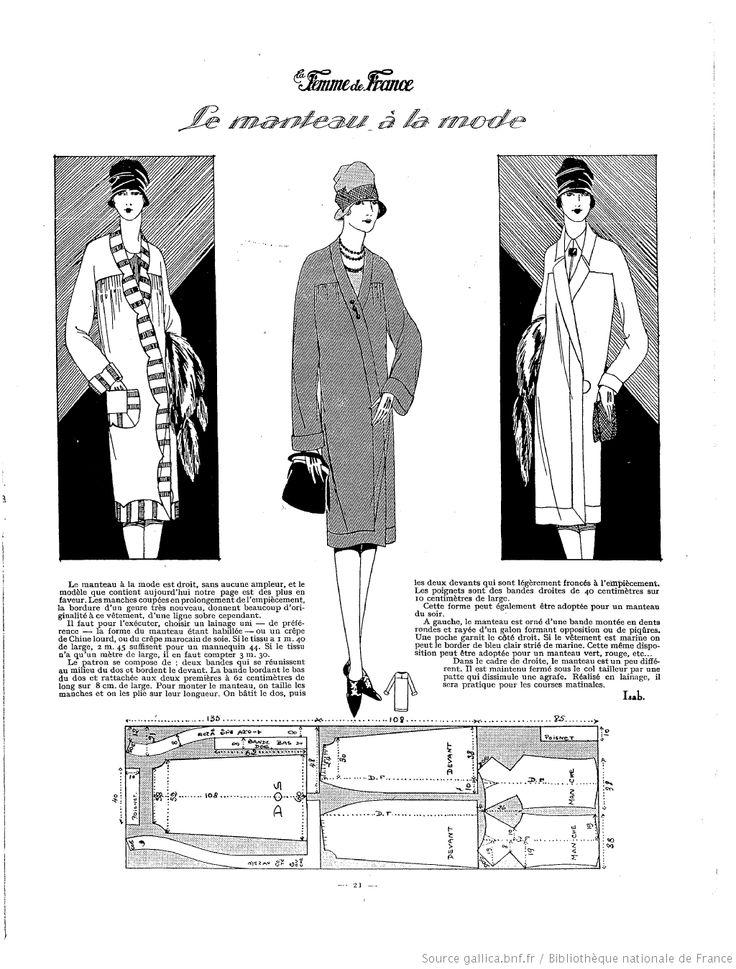 Manteau (La Femme de France 13/03/1927)