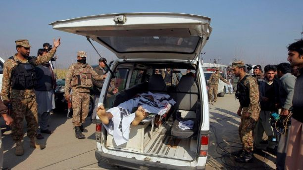 At least 20 killed in Taliban attack on Pakistan university (Guess that's not Islam either.)   Fox News
