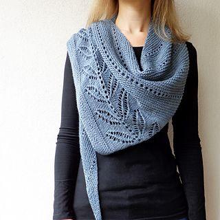 Silverleaf shawl