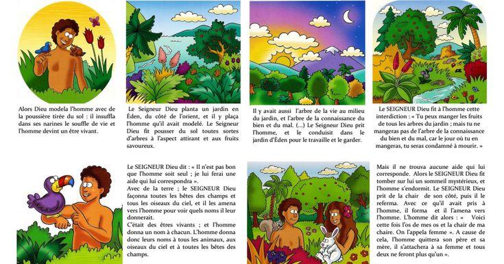 1. LA GENÈSE  ADAM ET EVEGenèse chapitre 2, versets 4 à 24) +.pdf