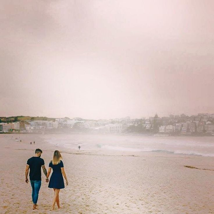 "We love the pink tones in this image from our recent Bondi shoot, capturing a young couple on their holiday in Sydney. ""Modern and quirky"" was the brief. And we think our photographer nailed it!"