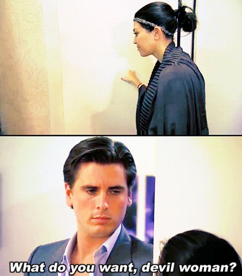 Kourtney Kardashian and Scott Disick Memes