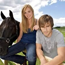 Heartland... Graham Wardle & Amber Marshall &  Spartan <3