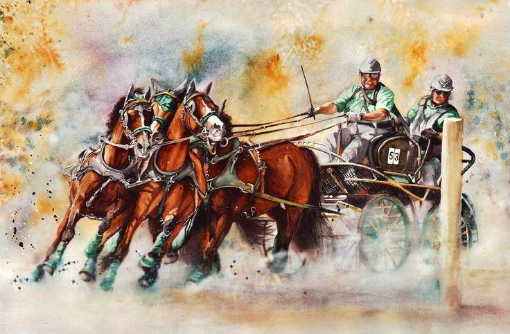 Čtyřspřeží pony