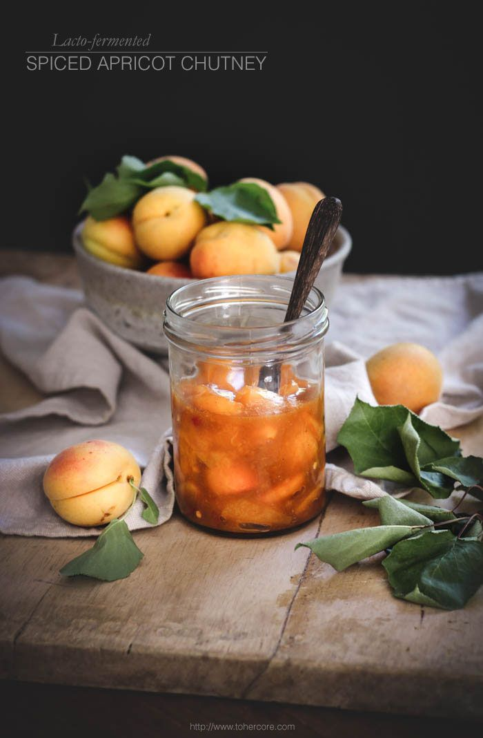 Spiced apricot chutney (lacto-fermented) + a workshop