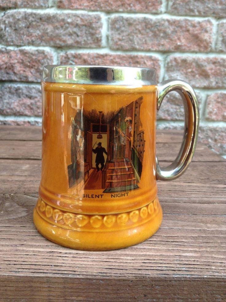Beer Mug, Tankard, Lord Nelson Pottery, Big Mug by TheForestSleeps on Etsy