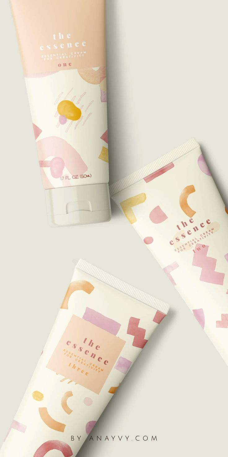 Abstract Watercolor Shapes |an animated design set for branding & social media |by ana & yvy