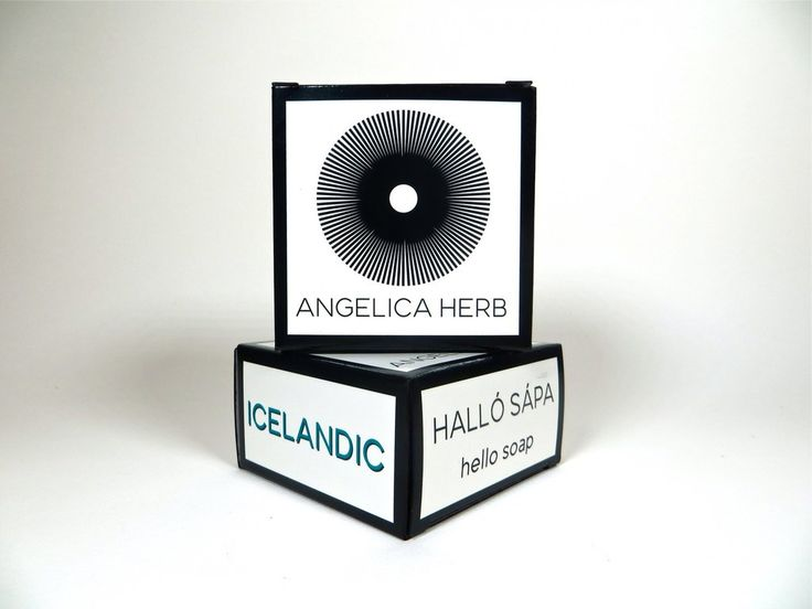 HALLÓ SÁPA™! (Hello Soap) Icelandic Angelica Herb Soap