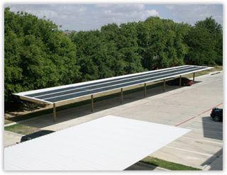 USA Eagle Carports Solar Carport