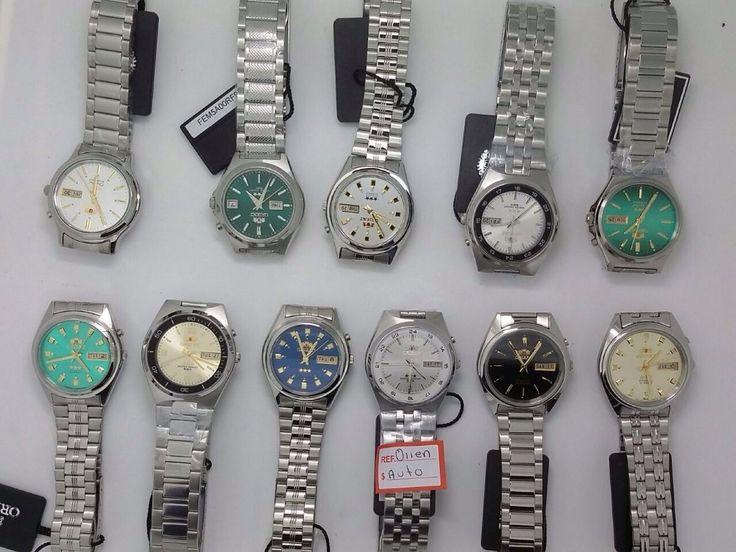 Reloj Orient Automatico Plateado Hombre