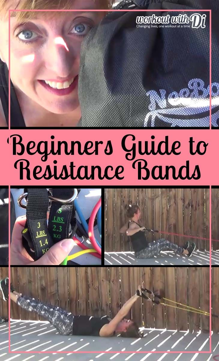 Beginners Guide to Resistance Tubes  and a review of the neeboofit resistane tube set http://www.workoutwithdi.com