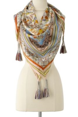 Silk Caspian Scarf from Soft Surroundings so needing this, now