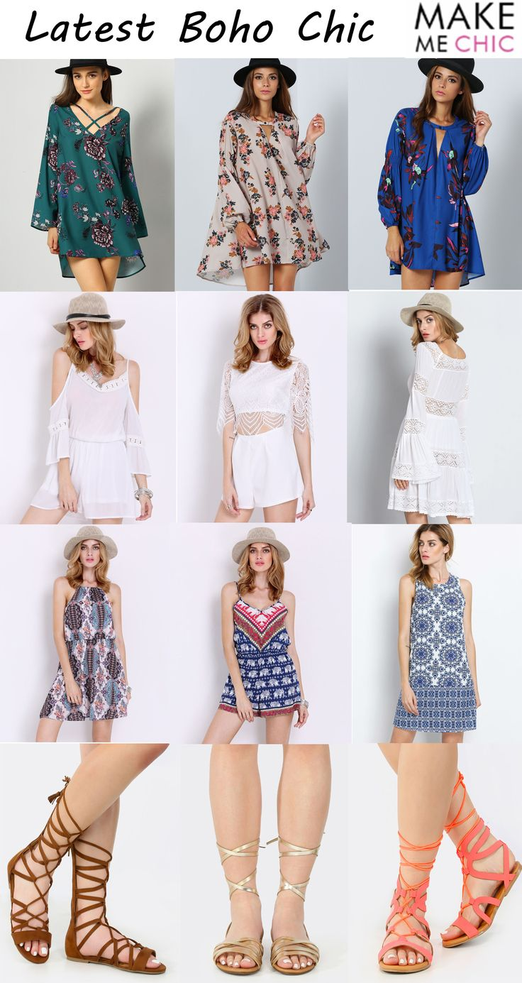 Spring is coming,are you ready for the good day? The boho style is the best for spring outing. Find more style on  m.makemechic.com
