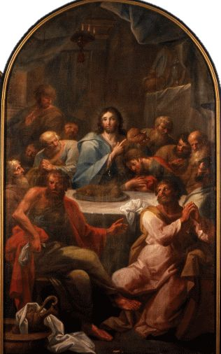Pedro Alexandrino de Carvalho (1729–1810) A Última Ceia (séc. XVIII), Museu Regional de Beja - Pedro Alexandrino de Carvalho.png
