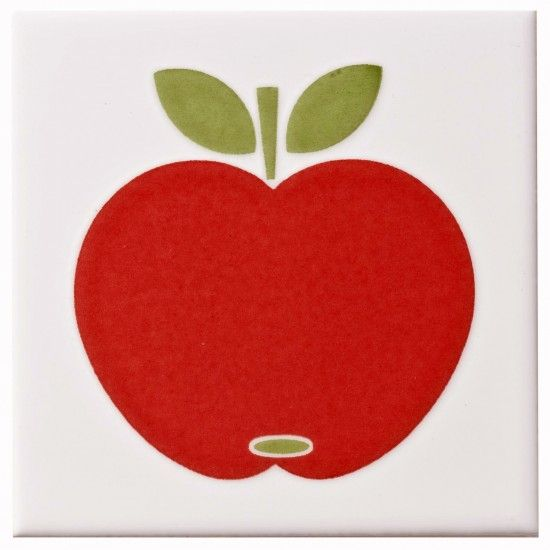 Colours Apple tile from B&Q   Kitchen wall tiles   Kitchen   PHOTO GALLERY   Style at Home   Housetohome