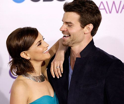 Congrats to Rachael Leigh Cook and hubby Daniel Gillies on the birth of their baby boy!