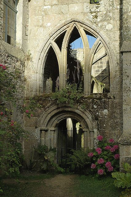 Ruins of Beauport Abbey, Brittany, France byalbrecht mauriceon Flickr