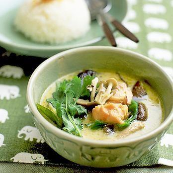 タイ風グリーンカレー | 鈴木珠美さんのごはんの料理レシピ | プロの簡単料理レシピはレタスクラブニュース