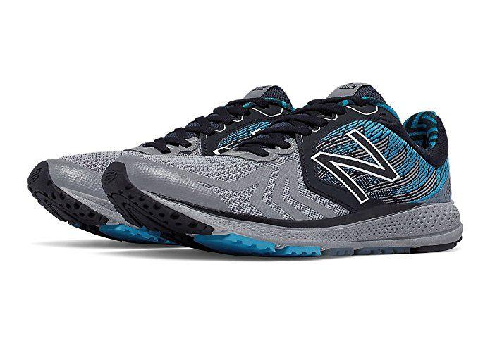 New Balance Women's Vazee Pace Running Shoe, Size: 12 Width: B Color: Black/Metallic  Silver/Blue
