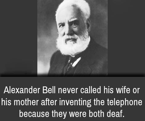 the significant contributions of alexander graham bell Descendants of telephone inventor alexander graham bell are saying wrong number and appealing the assessment value of his famous baddeck estate in which he denigrates the telephone but praises bell's contributions to national geographic apparently at significant cost.