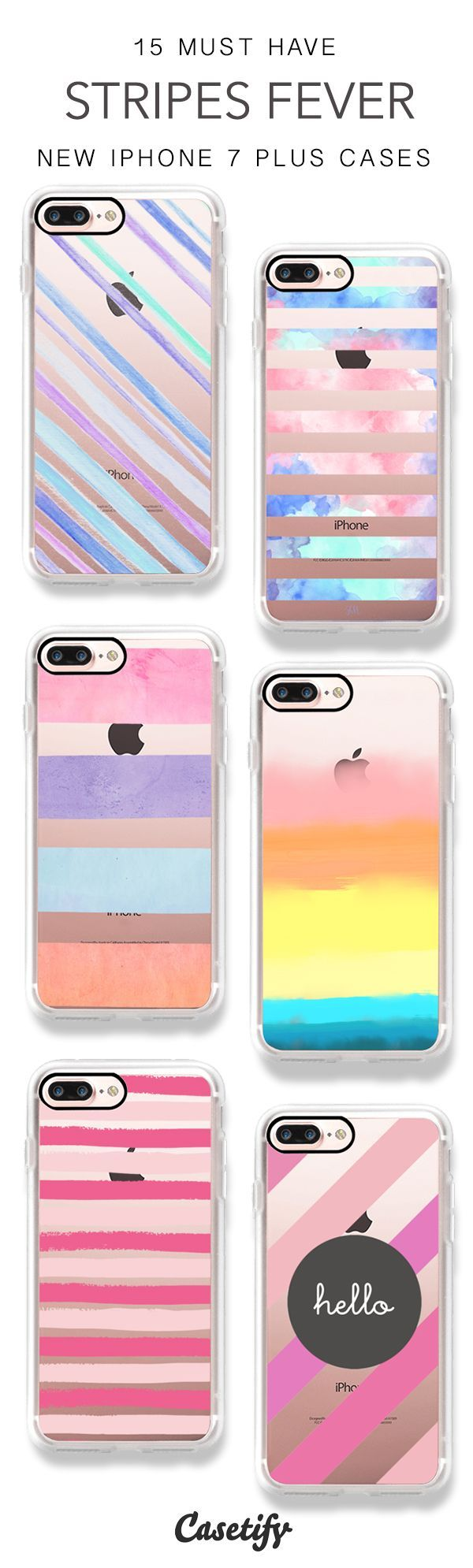 Stripes is never outdated! 15 Must Have Stripes iPhone 7 Cases & iPhone 7 Plus Cases here > https://www.casetify.com/artworks/gqUl2yOC36
