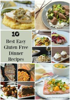 These are our top 10 best quick and easy gluten free dinner recipes. Kid approved family favorites. http://www.fearlessdining.com/indexes/recipe-index/dinner-recipes/