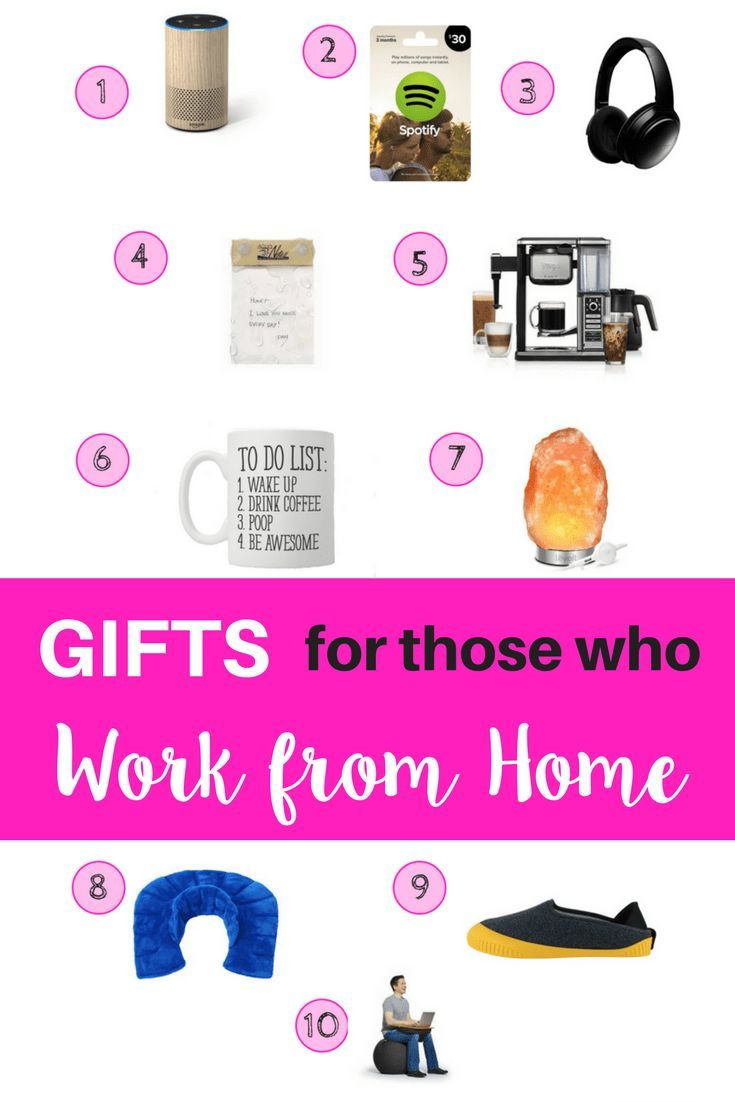 The ultimate gift guide when you are shopping for someone who works from home. Great gifts that they will actually use. #gifts #momlife #WAHM via @www.pinterest.com/mypursestrings