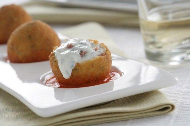 Croquetas de jamón al queso Philadelphia con Finas Hierbas - El Aderezo - Blog de Recetas de Cocina