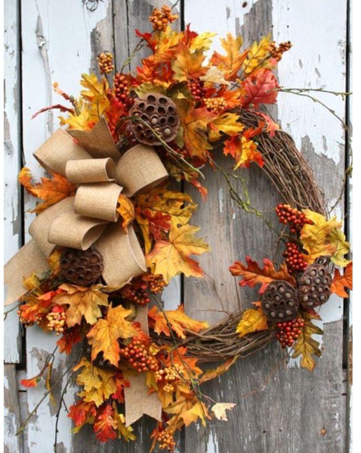 Corona de otoño