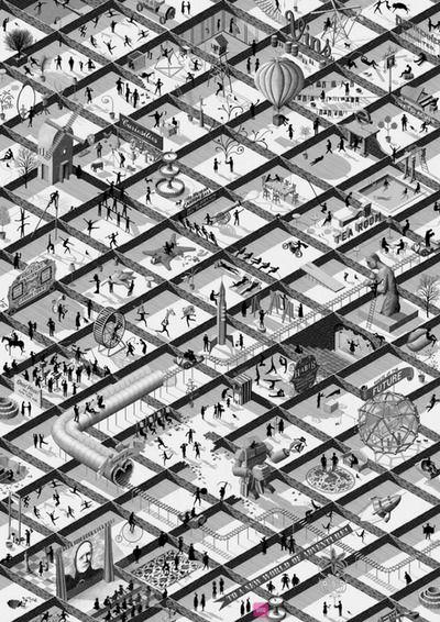 1989 August: Parc de la Villette by Bernard Tschumi Architects | Archive | Architectural Review