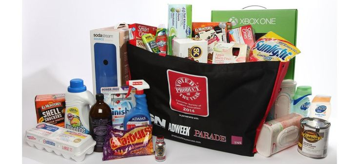 Product of the Year 2014 Pack sweepstakes