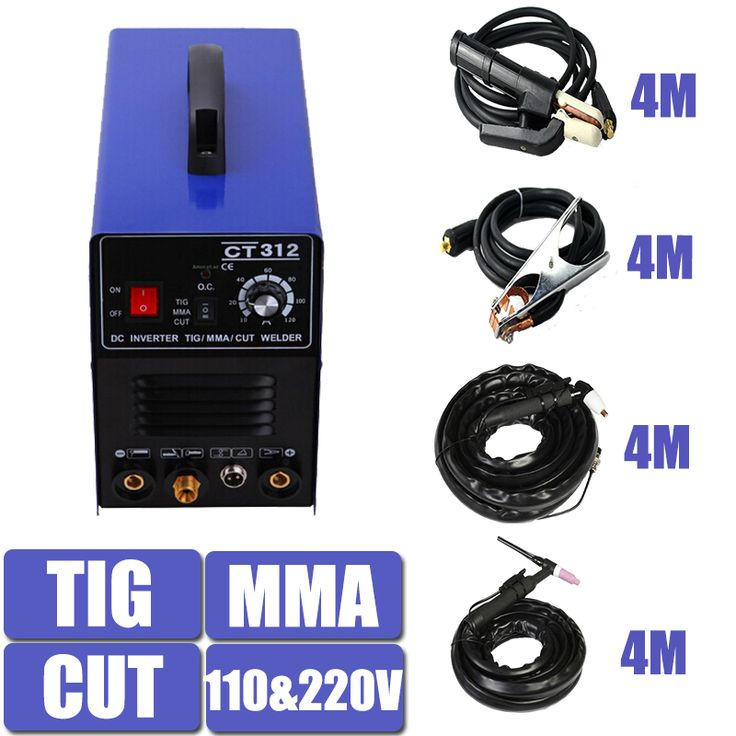 Double Voltage TIG MMA CUT Welding Mulitifunction Machine Equipment CT312 With 4 Meters Torch and holder Factory Price #Affiliate