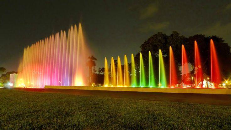 Fuente de la Fantasia, Parque de la Reserva, Lima