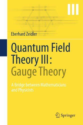 Quantum Field Theory III: Gauge Theory - http://www.darrenblogs.com/2017/02/quantum-field-theory-iii-gauge-theory/