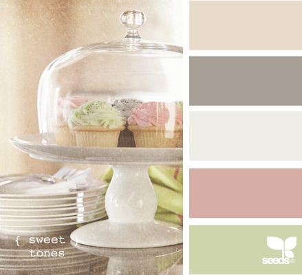 Cute!Colors Pallets, Color Palettes, Design Seeds, Girls Room, Colors Palettes, Colors Schemes, Baby Girls, Sweets Tone, Colours Palettes