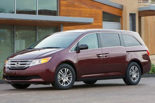 2013 Honda Odyssey EX-L Passenger Minivan Exterior. This is definitely for the future, but my top contender for when we have all our kids :)