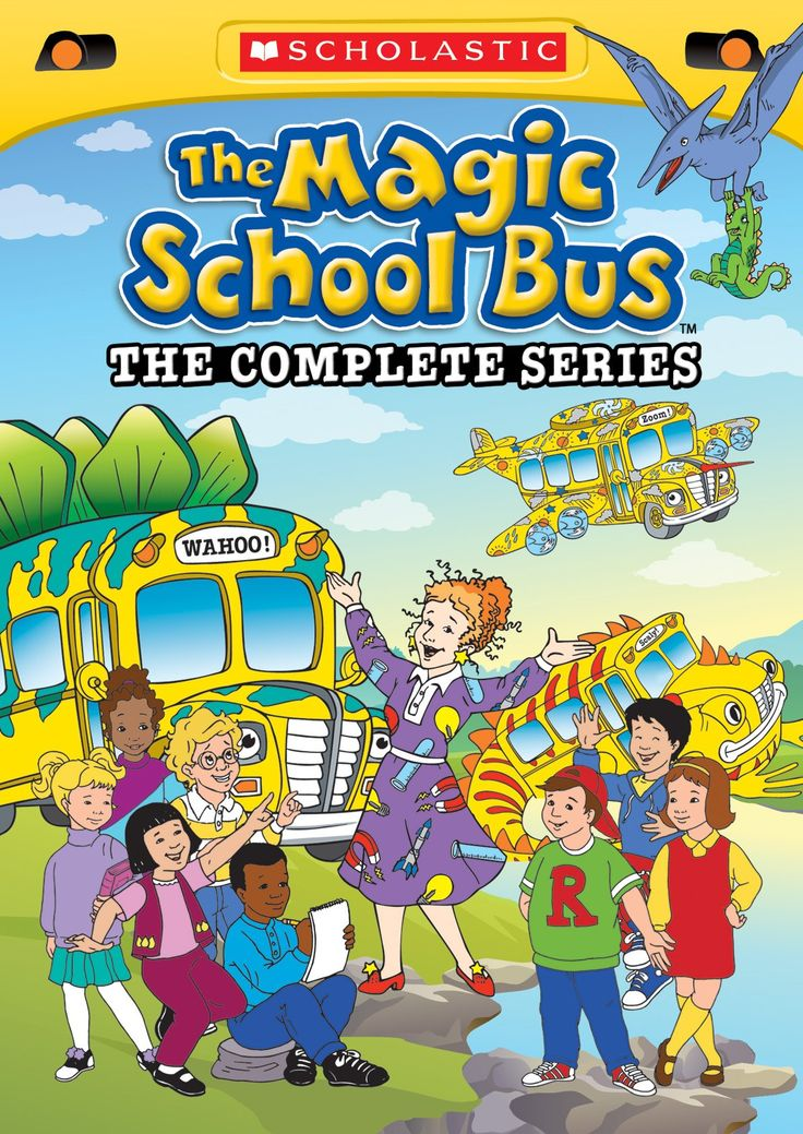 Free resources for The Magic School Bus series