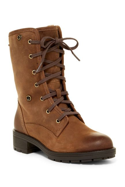Image of Clarks Reunite Up GTX Faux Fur Lined Waterproof Boot. nord rack 99