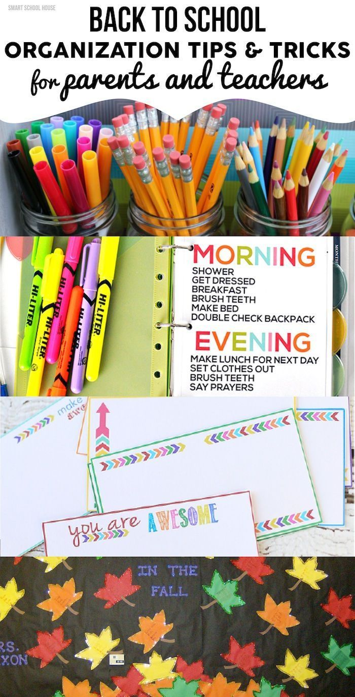 Back to school organization tips and tricks for parents and teachers classroom organization - Back to school organization ...