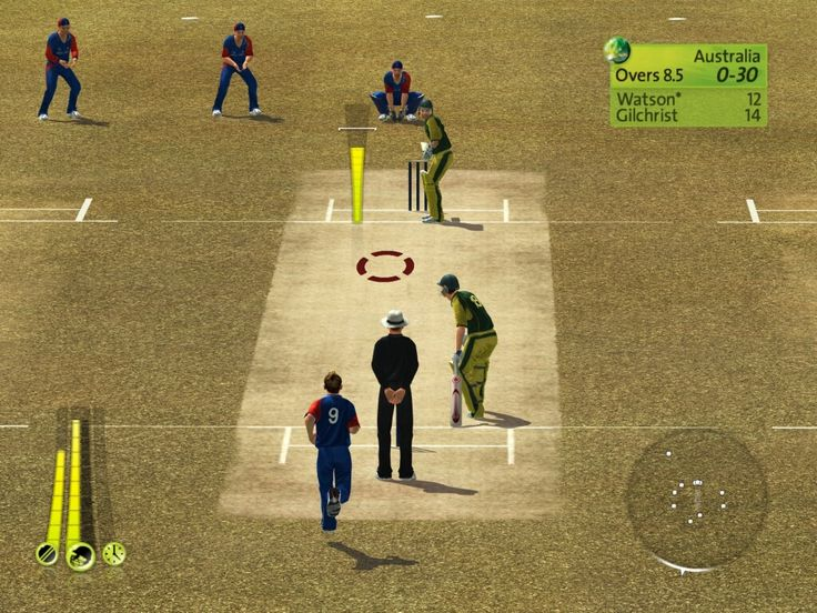 Brian Lara Cricket 2007 Game Screenshots