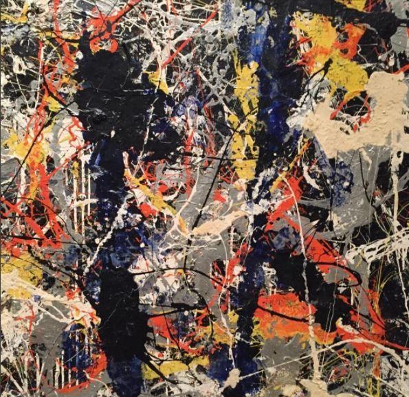 Jackson Pollock at the Royal Academy