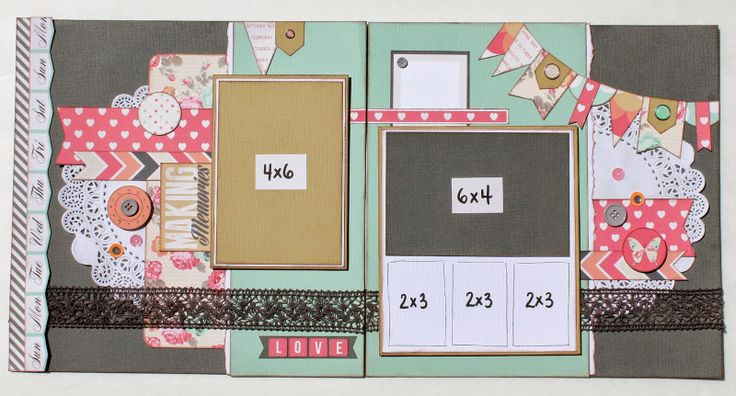 Teresa Collins Daily Stories Scrapbook Layout Double