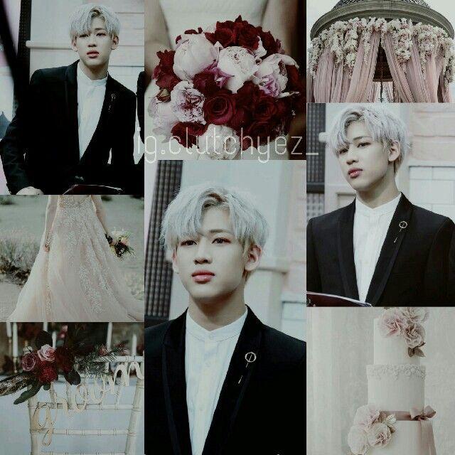#pink, #wedding, #bambam, #got7   Follow ig @clutchyez_