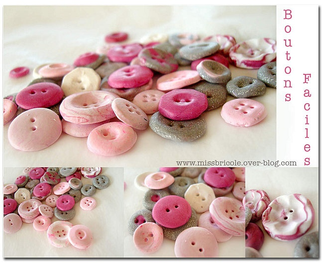 boutons faciles   http://missbricole.over-blog.com