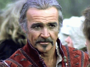 Sean Connery in Highlander  Inspiration for Odin
